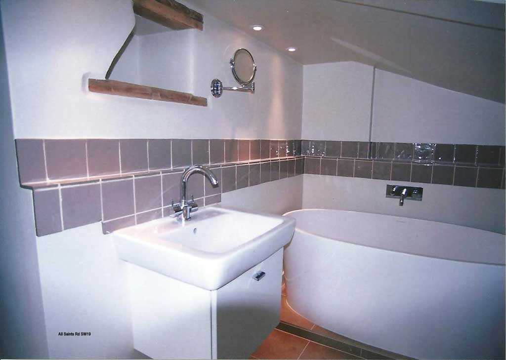 shower room by Ward Brothers
